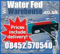 One stop shop for water fed pole cleaning supplies.